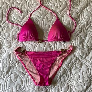 Victoria's Secret hot pink bikini -S/M